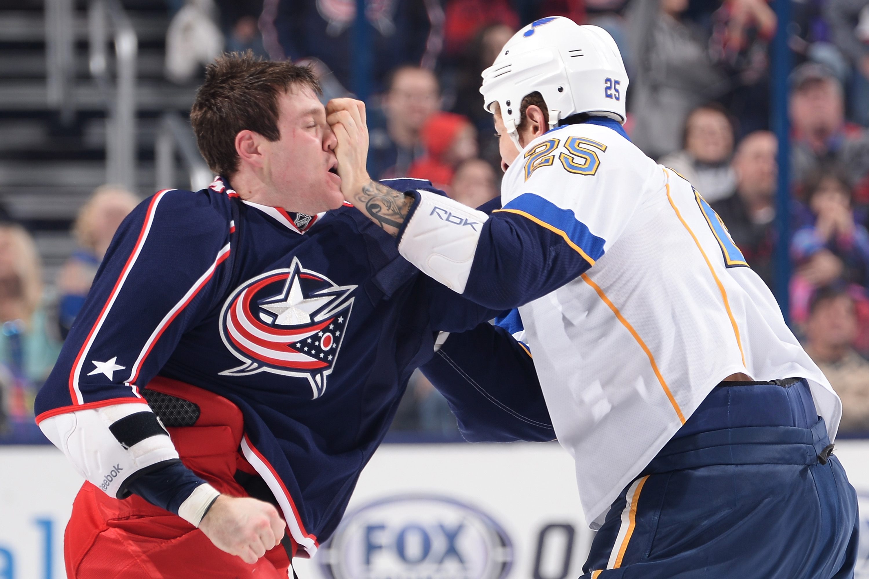 Columbus Blue Jackets: Top 5 Fighters in Franchise History